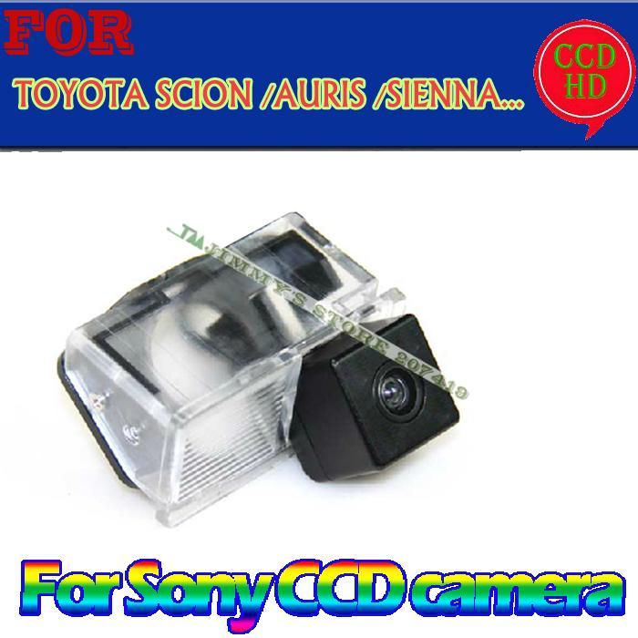 for sony ccd GPS/DVD car reverse parking rearview wireless camera for TOYOTA SCION XB XD/URBAN CRUISER/AURIS /SIENNA wide angle(China (Mainland))