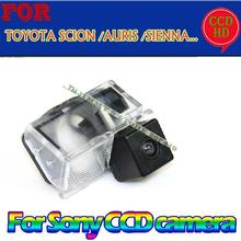 for sony ccd GPS/DVD car reverse parking rearview wireless camera for TOYOTA SCION XB XD/URBAN CRUISER/AURIS /SIENNA wide angle(China)