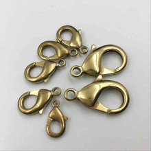 5 Dimensions 30pcs/pack Keychain MINI Metal Lanyard Hook Swivel Snap For Paracord Lobster Clasp Clips Key Chain Wholesale Buckle(China)