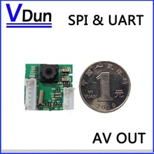 1pcs/lot RS232 / SPI HighSpeed  JPEG Serial Port CCTV Camera Module SCC-1 with video out support VC0706 SPI/Serial Protocol