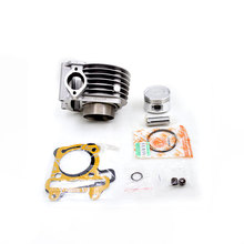 2088 High Quality Motorcycle Cylinder Kit For Haojue Suzuki HJ125T-11A HJ125T-10A HJ 125 125cc Engine Spare Parts(China)