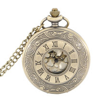 Nurse Pocket Watch Roman Number Quartz Watch Round Case Pendant Necklace Chain Clock Gifts LL@17(China)