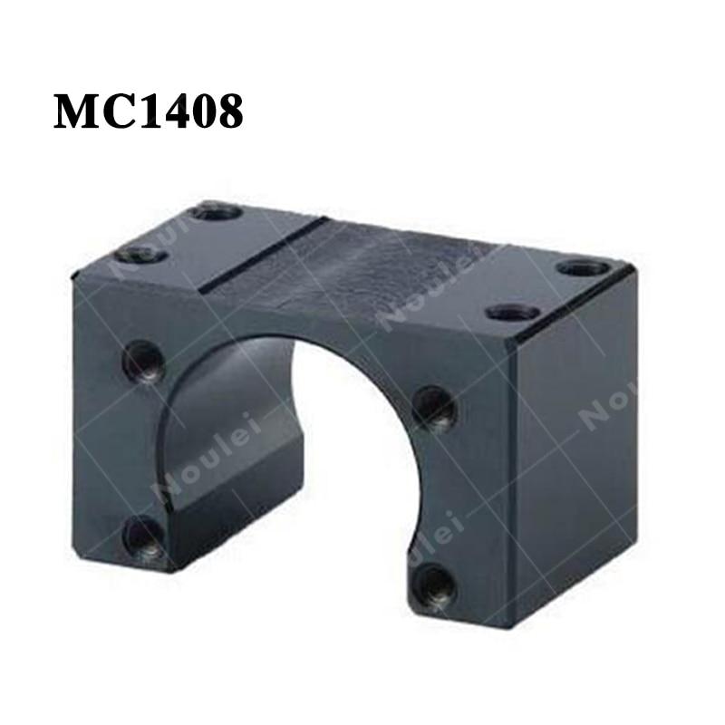 MC1408 ball screw nut housing ballnut Bracket MC series Black<br>