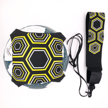 Top quality Soccer ball Solo Kick belt Trainer Training Equipment Trainer football kinetic elastic cord stretches Drop Ship(China)