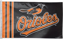 MLB Baltimore Orioles Flag New 3x5ft 90x150cm Polyester Flag Banner 7022, free shipping(China)