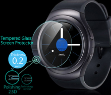 Top Quality Ultra Thin 0.2mm 9H Explosion-proof Tempered Glass Screen Protector Film For Samsung Gear S2/S2 Classic Smart Watch