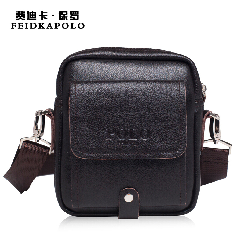 Limited buying mini casual bags Multifunction Leather Messenger Bag Mens fashion pocket Brown brand of small bags High quality<br><br>Aliexpress