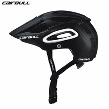 CAIRBULL Cycling Helmet Casco Ciclismo PC+EPS Bicycle Bike Adjustable Visor Mountain Helmet Men Women Safety MTB Casque Vtt M L(China)