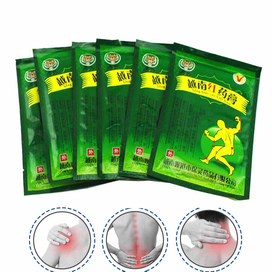 48pcs Vietnam Red Tiger Balm Plaster Creams White Meridians Relief Patch Body Muscle Massager Relieving Pain Spondylosis C077<br><br>Aliexpress