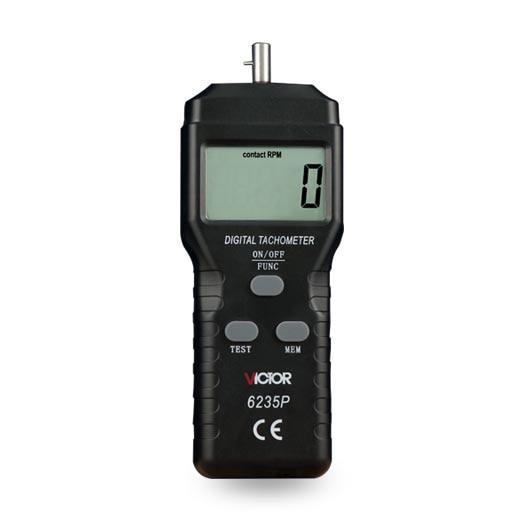 VICTOR 6235P laser non-contact tachometer photoelectric tachometer digital tachometer  measure High Performance 2.5-99999 RPM<br>