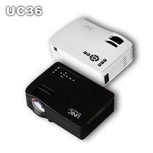 UC36 LED LCD Mini Portable 1080P Projector Proyectorwith HDMI AV USB SD Home Theater Beamer kid toy gifts for PC DVD TV Phones(China)