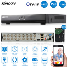 KKmoon 16CH Full 960H/D1 DVR HVR NVR + 1TB Seagate HDD HDMI P2P Onvif 16CH Recorder PnP APP Control CCTV Security Camera System