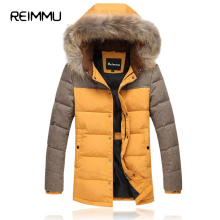 Reimmu 2017 Men Winter Down Coat High Quality Mens Down Parka Jacket Oversized 5XL Men's Down Jackets Quality Casaco Masculino