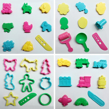 36pcs/set Playdough Tool And Mold Play Dough Model Toys Creative 3D Plasticine Tools Set Kit For Children Gift(China)