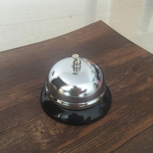 1Pcs New Desk Kitchen Hotel Counter Reception Restaurant Bar Ringer Call Bell Service Ring 8.5cm F2199(China)