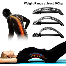Spine relieve aircraft lumbar disc herniation traction massage therapy stretch humpback correction(China)