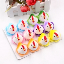 12pcs mini bubble bird rooster wedding garden furniture decoration wreath DIY handmade collage gift box clip art supplies