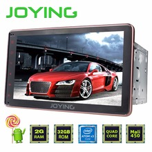 "Rose Gold JOYING 2GB+32GB Android 5.1 Universal Double 2 DIN 8"" Car Radio Stereo Quad Core Head Unit Support PIP OBD DVR"