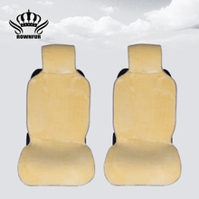 new 2pc car seat cover Gray Black brown White Yellow red colors universal size for car accessories of seats for car lada granta(China)