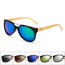 Ablibi Men's Cool Fashion Top Brand Designer Bamboo Polarized Sunglasses for women in Wood Box Customized Logo Available(China)