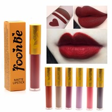 1pcs Matte Lip liquid stick Long-lasting Lip Gloss make up liquid Lipstick 14 Colors lipgloss women lip makeup cosmetic Foonbe(China)