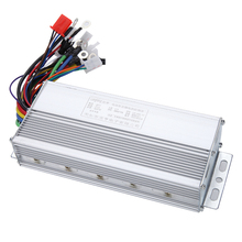 Free shipping 36v 48v 350w brushless dc motor speed control controller for electric bike scooter ebike