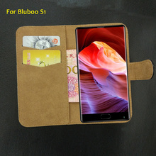 6 Colors Factory Direct!! Bluboo S1 Case Flip Fashion Leather Luxury Exclusive Protective 100% Special Phone Cover(China)