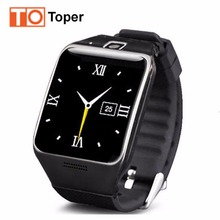 LG128 Toper Nnew Smartwatch Bluetooth Smart Watch for Android IOS Phone with SIM/TF Card Slot SMS FM Camera Video Recording GPS