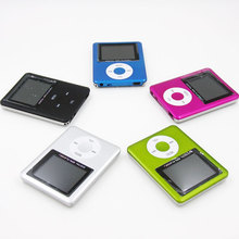"Fashion Style Slim 1.8"" LCD 3th MP3 MP4 Player mp3 player support up to 32GB micro sd memory card Video Photo Viewer eBook Read(China)"