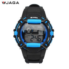 JAGA Men Sports Watches Movement Multifunction Electronic Watch 100 Meters Waterproof Watches Diver Sports Watch M872
