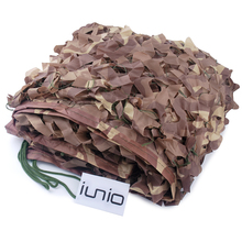 Camo Net 2M*3M Polyester Material+Nylon Strap Sun Shelter Car Drop Hidding Military Exercise Camouflage Net Camping Hunting