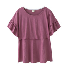Cotton Pregnancy Clothes Maternity Clothing Maternity T-shirt Tops Nursing Breastfeeding Clothes For Pregnant Women Tees Wear(China)
