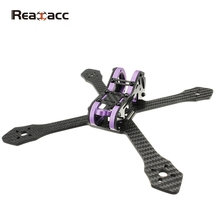 Realacc Purple215 215mm 4mm Arm Thickness Carbon Fiber Frame Kit for Racer Racing RC Drones FPV Quadcopter Spare Parts Accessory(China)