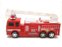 2022 baby toy 1pcs Children's educational plastic toys inertia toys red fire truck engines