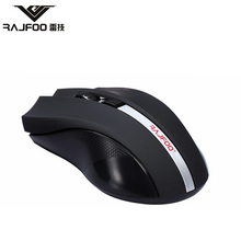 100% RAJFOO I8 Wireless 2.4GHz USB Mouse Pads Computer for Mac Business Entertainment Gaming Gamer Ratones PC Office Laptop Mice