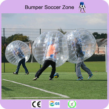Free Shipping 0.8mm PVC 1.5m Outdoor Sports Inflatable Bubble Soccer Ball Football Bubble Body Zorb Ball Air Bumper Ball(China)