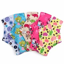 Reusable Sanitary Pads Washable Super Absorbent Feature Bamboo charcoal Menstrual Pad Cloth Sanitary Postpartum Sanitary Napkin(China)