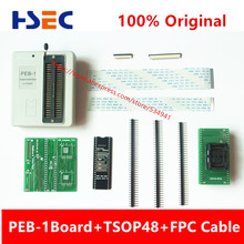 Free Shipping PEB-1 Expansion board+TSOP48+FPC Cable Use on RT809F Support IT8586E IT8580E29/39/49/50 series 32/40 /48 feet BIOS(China)