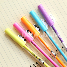 1pc/lot Dog series erasable gel pen 0.5mm Novelty stationery pens Office material Canetas school kids supplies (dd-1382)(China)