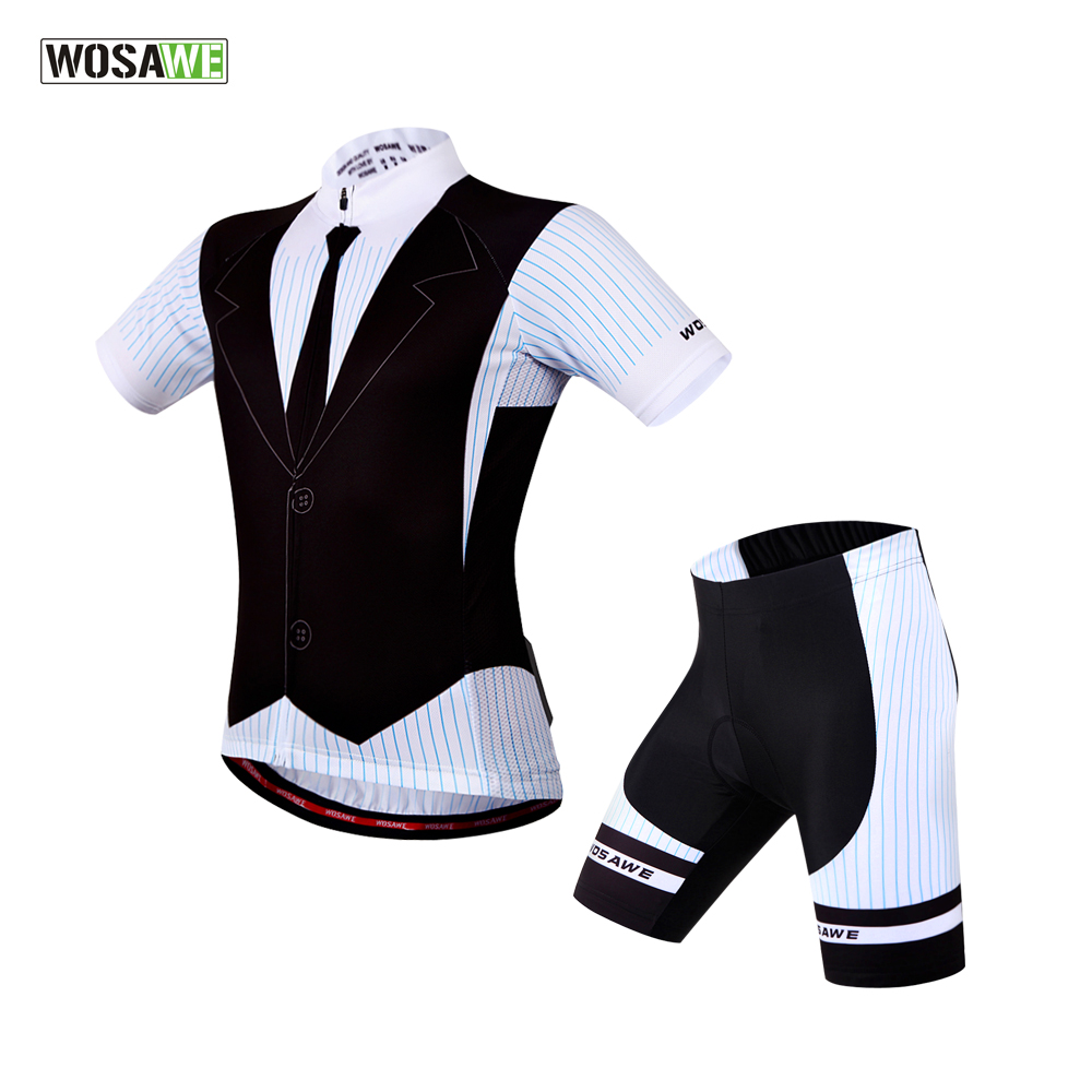 WOSAWE 100% Polyester 2017 Cycling Jersey Short Sleeve Mens Shorts Summer Cycling Clothing Breathable&amp;Quick-Dry Cycling Set<br><br>Aliexpress