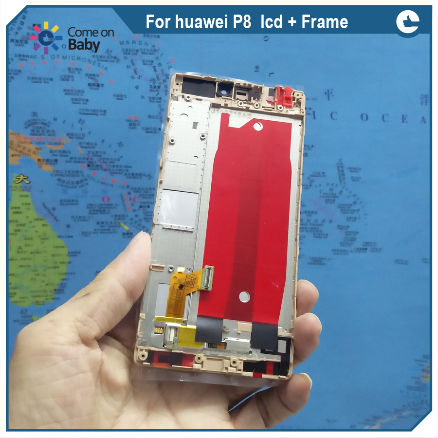 For huawei P8  lcd Frame 01