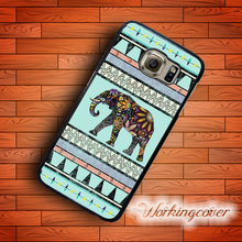 Coque Luxury Aztec Elephant Case for Samsung Galaxy Note 8 5 4 3 Case Cover for Galaxy S8 S7 S6 S5 S4 S3 Mini Active Case.