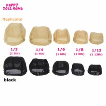 DIY Prop BJD Doll Wigs Headgear Wig Cap Doll Accessories Fixed Hairnet Hair Net For 1/3 1/4 1/6 BJD Toy For Barbie For Blythe