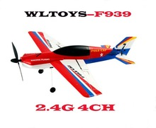Original Wltoys F939 Upgraded Version F939A RC Plane 2.4G 4CH EPS Micro Pole Cat Remote Control Glider Outdoor Funny Toys