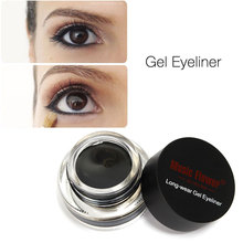 Smooth Waterproof Gel Eyeliner Long Last Eye Liner Cosmetics Yeux Liner Eyeliner Pens Tool Set Delineador Delineador Em Gel