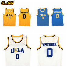 UncleGG Russell Westbrook UCLA Jersey University College Bruins Cheap Throwback Basketball Jerseys For Men Stitched Sport Shirt(China)
