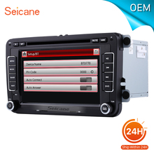 seicane Universal 7 inch car DVD Player GPS Navigation for 2011-2012 VW Volkswagen LAVIDA Support Aux iPod With CANBUS bluetooth(China)
