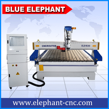 ELE 1530 china cnc router machine , 3d cnc router with vacuum system and dust collector(China)