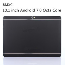 Original BMXC10.1 inch Android 7.0 Octa Core Tablet 3G 4G LTE Dual SIM Phone Call 64GB ROM 4GB RAM WIFI bluetooth GPS Tablet PC(China)