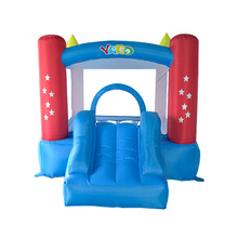 YARD backyard mini bounce house inflatable bouncer bouncy castle slide with blower